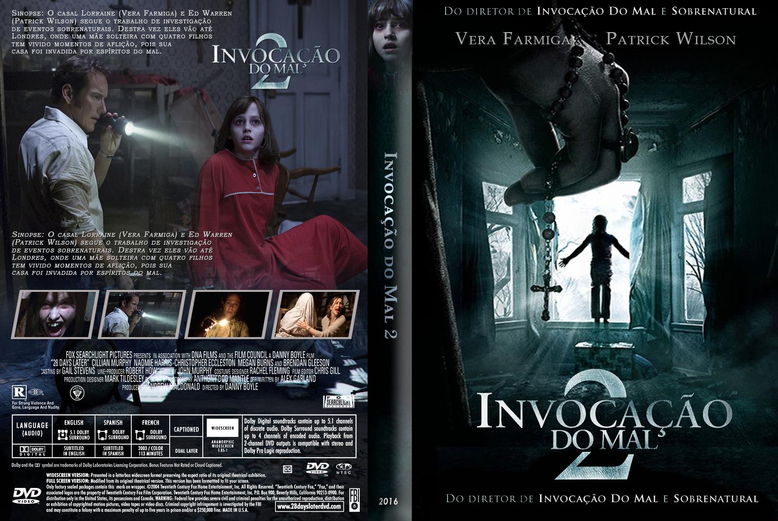Invocação do Mal 2 DVD-R Invocação do Mal 2 DVD-R eoJFpwll