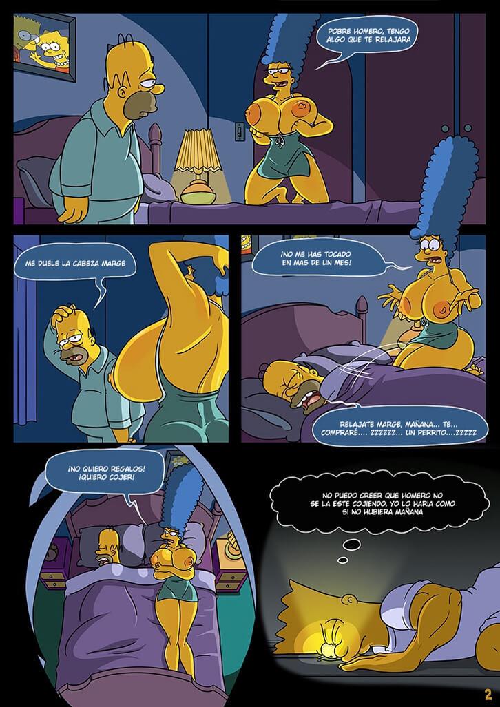 Homer simpson tatoo en el culo