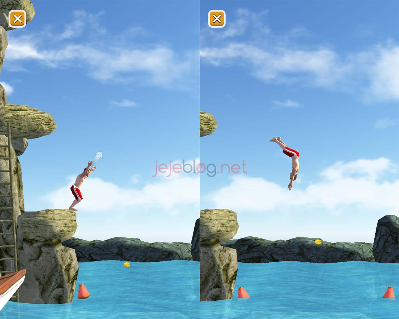 review game flip diving