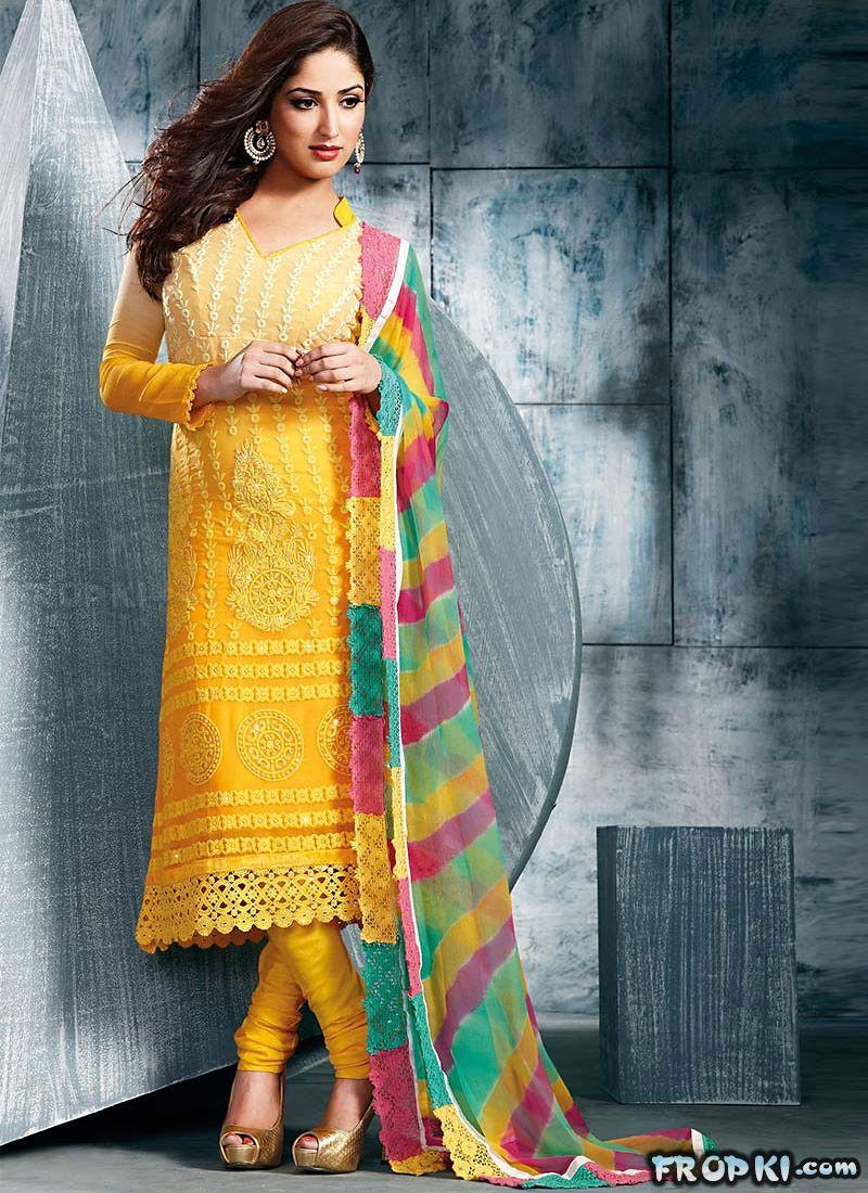 Yami Gautam Churidar Modeling Ad AdrUWlt8