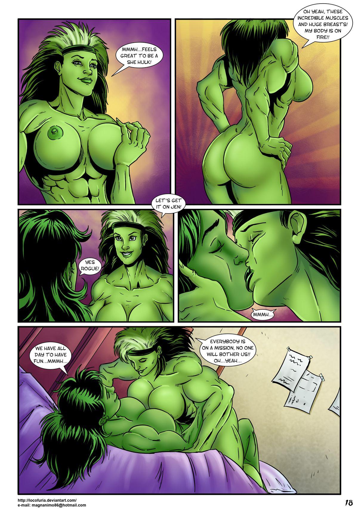Hulk porn she