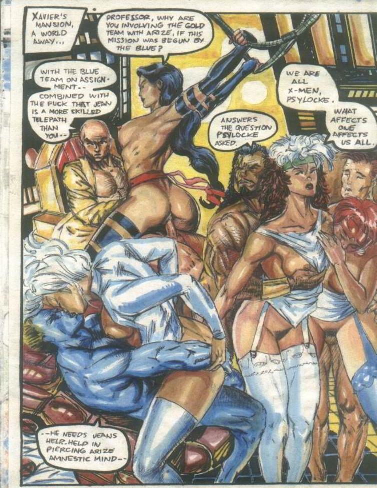 pbx   x men 1 comics xxx