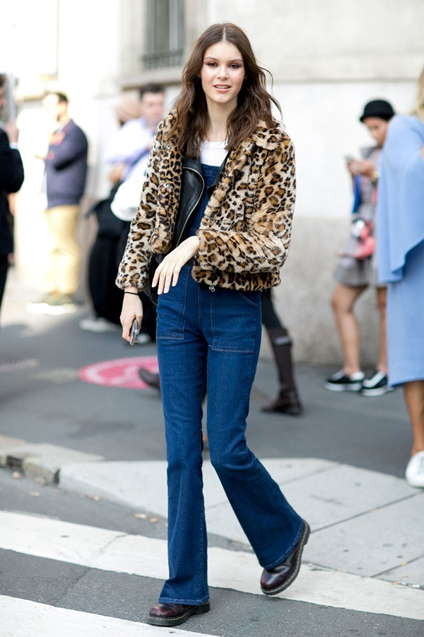 how to wear flared jeans, pic 1