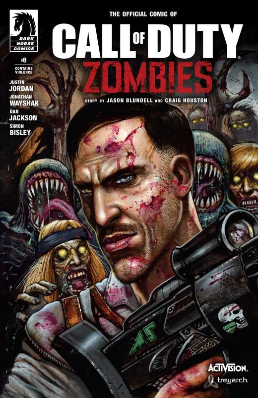 Call of Duty - Zombies #1-6 (2016-2017) Complete