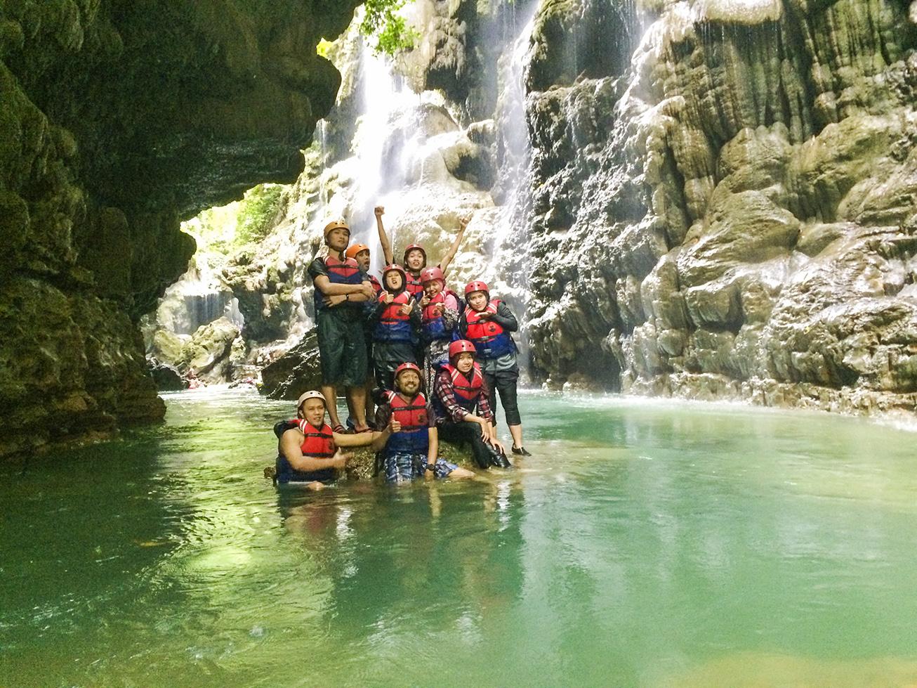 informasi body rafting di green canyon pangandaran