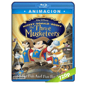 Mickey, Donald, Goofy Los Tres Mosqueteros (2004) BRRip 720p Audio Dual Latino-Ingles 5.1