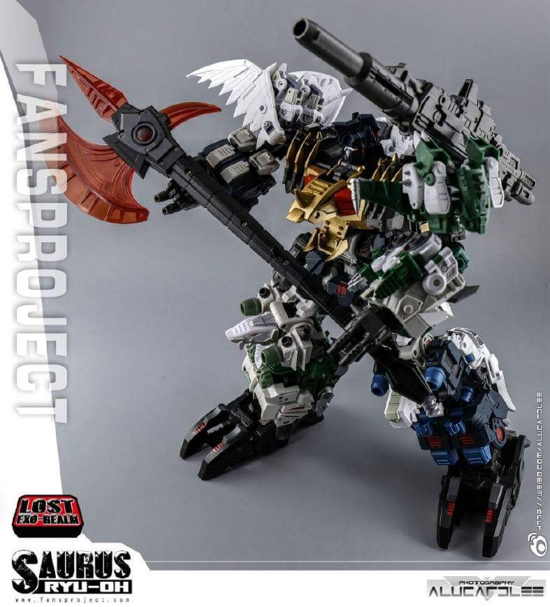 [FansProject] Produit Tiers - Jouet Saurus Ryu-oh aka Dinoking (Victory) | Monstructor (USA) - Page 2 ScNWr8rw