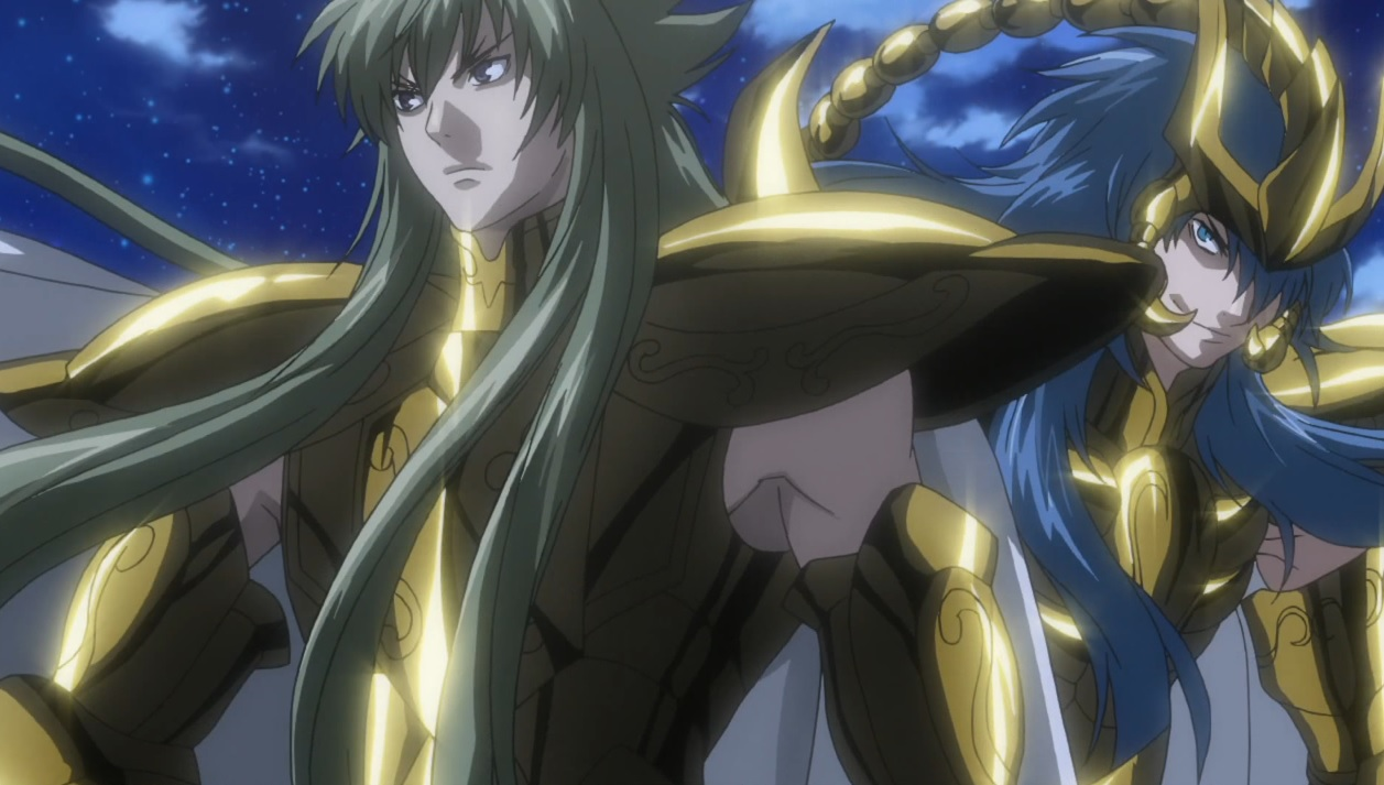 Screenshots Gallery Gold Saint Cardia/Kardia Scorpio The Lost Canvas