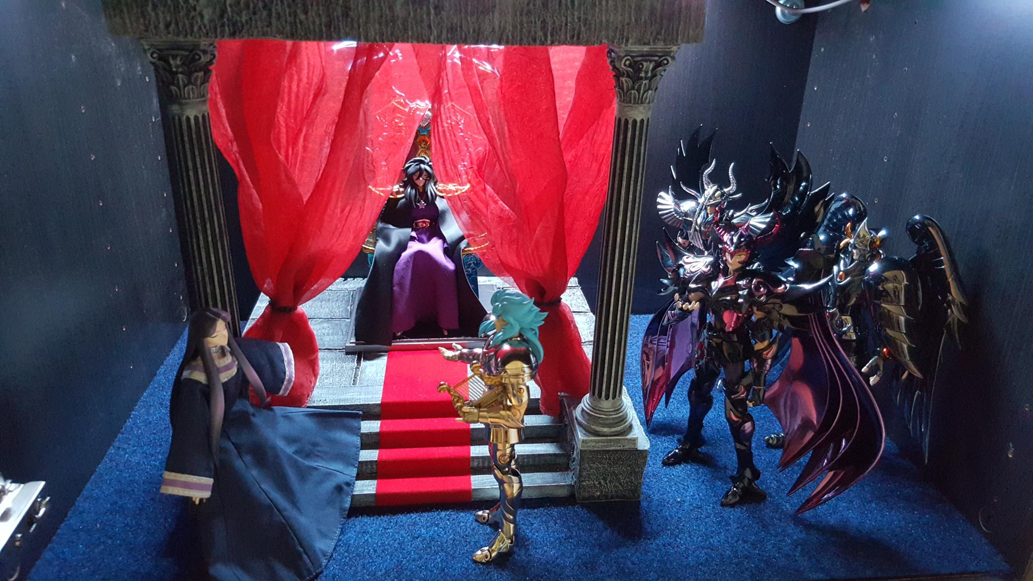 il mio primo diorama orpheo suona per il dio degli inferi...