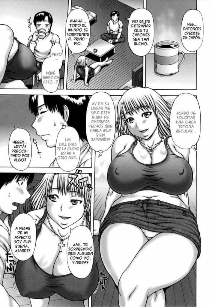 Blond Panic Comic Porno