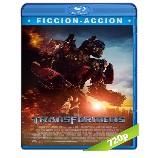 Transformers HD720p Lat-Cast-Ing 5.1 (2007)
