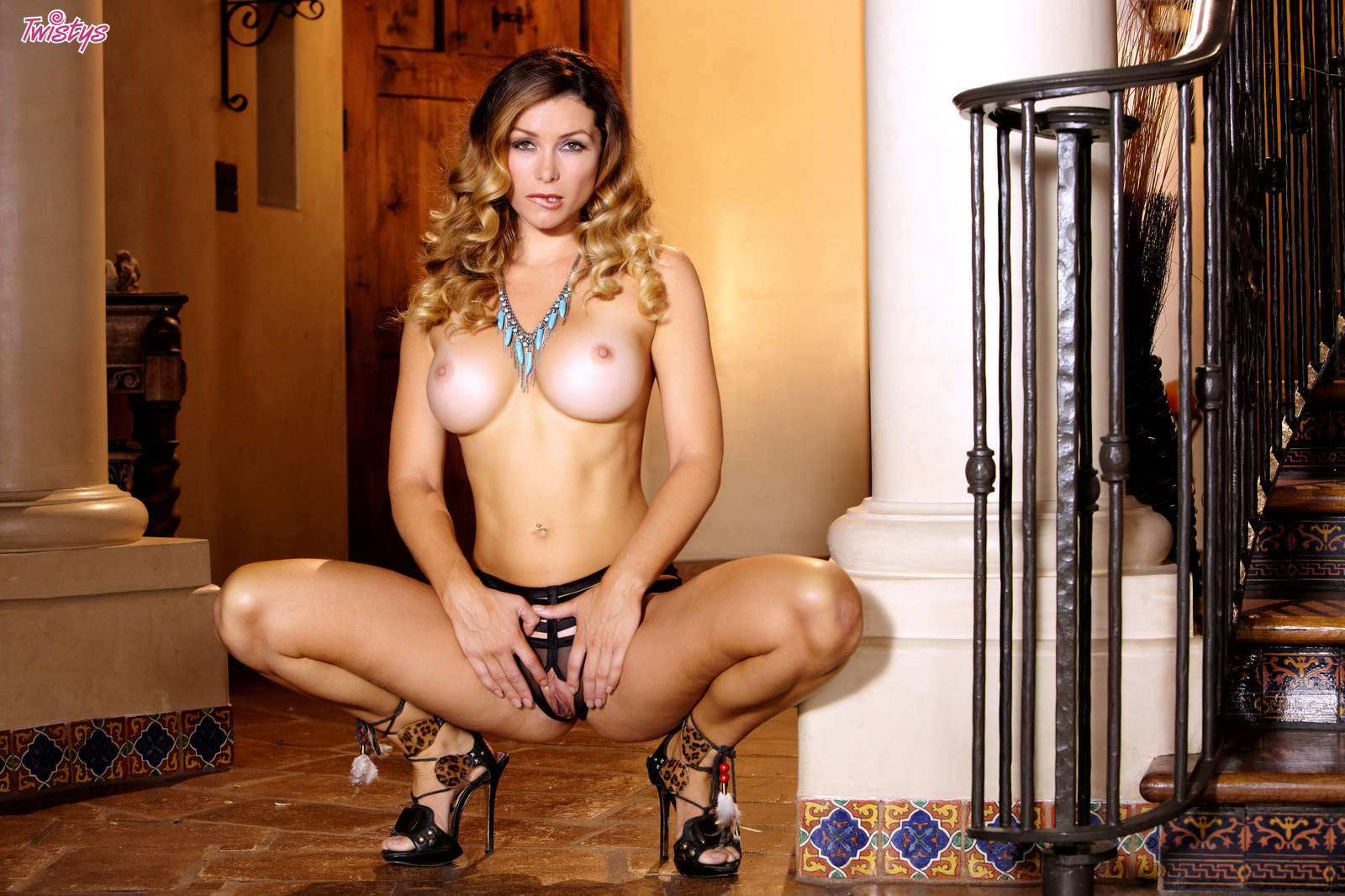 Perfecta hermosa niña Heather Vandeven