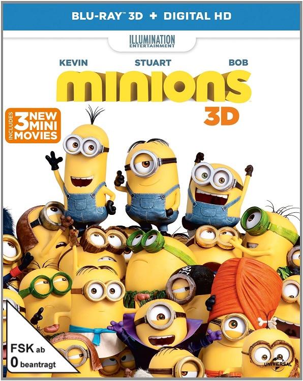 فيلم Minions 2015 3D HalfSBS 1080p BluRay AC3 x264 مترجم