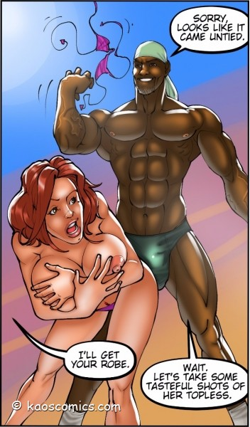 Kaos Comics Wife And The Black Gardeners 2 -  Page 49 Of -4859
