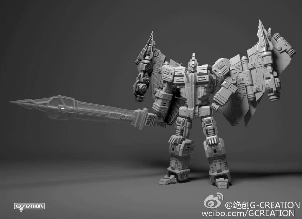 [GCreation] Produit Tiers - Jouet ShuraKing - aka Combiner Dinobots - Page 2 IUQkJ36e