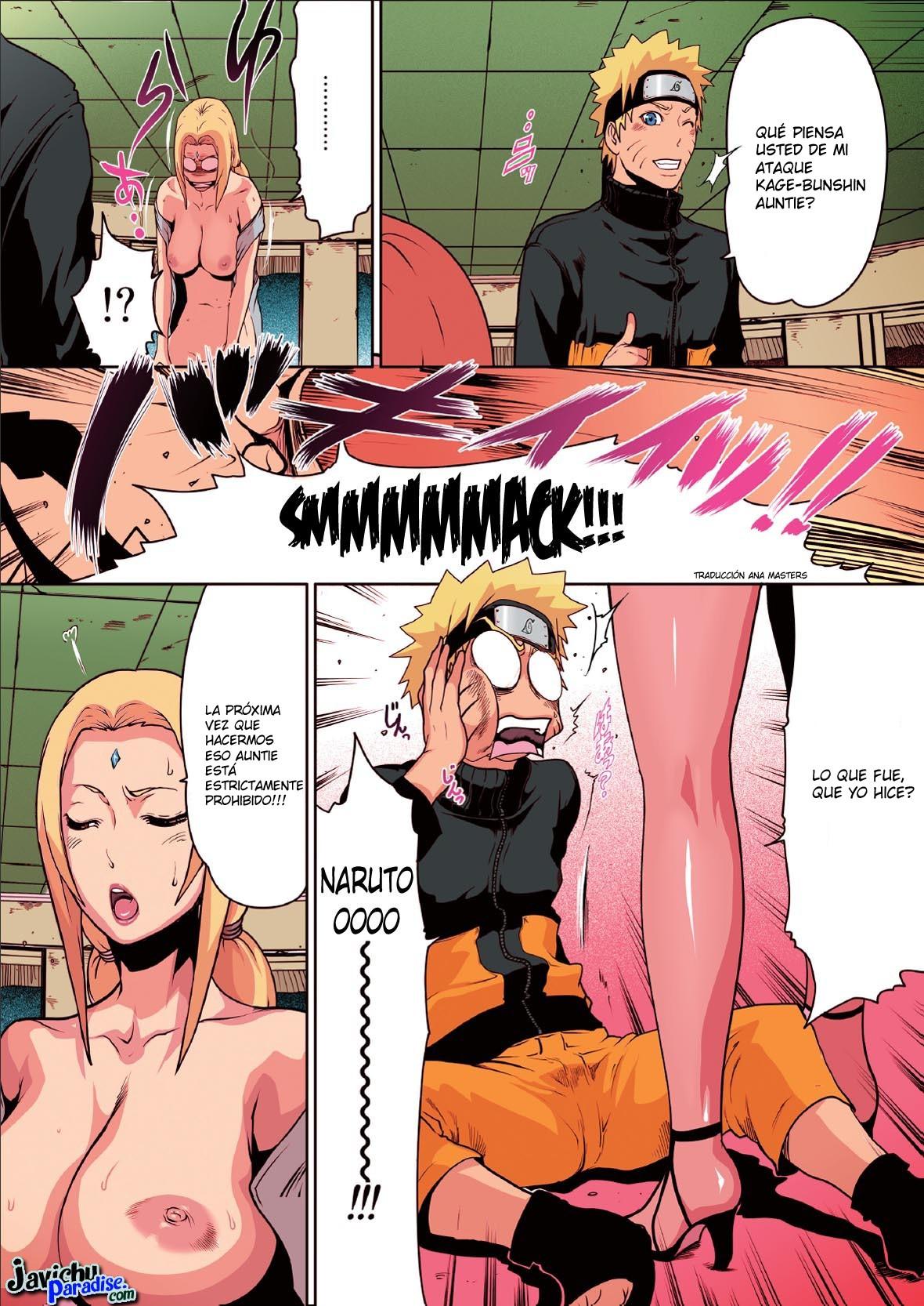 Was Naruto tsunade xxx comic