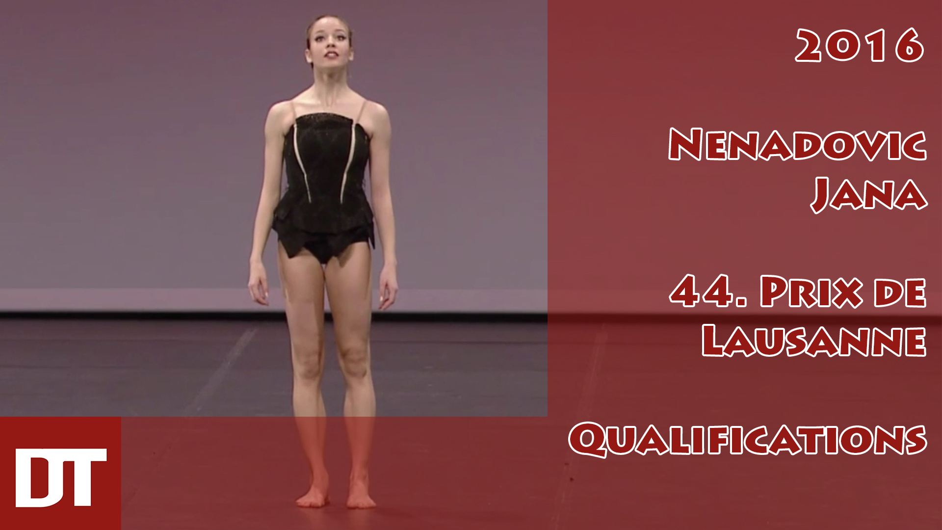 2016 – Nenadovic Jana – 44. Prix de Lausanne – Qualifications