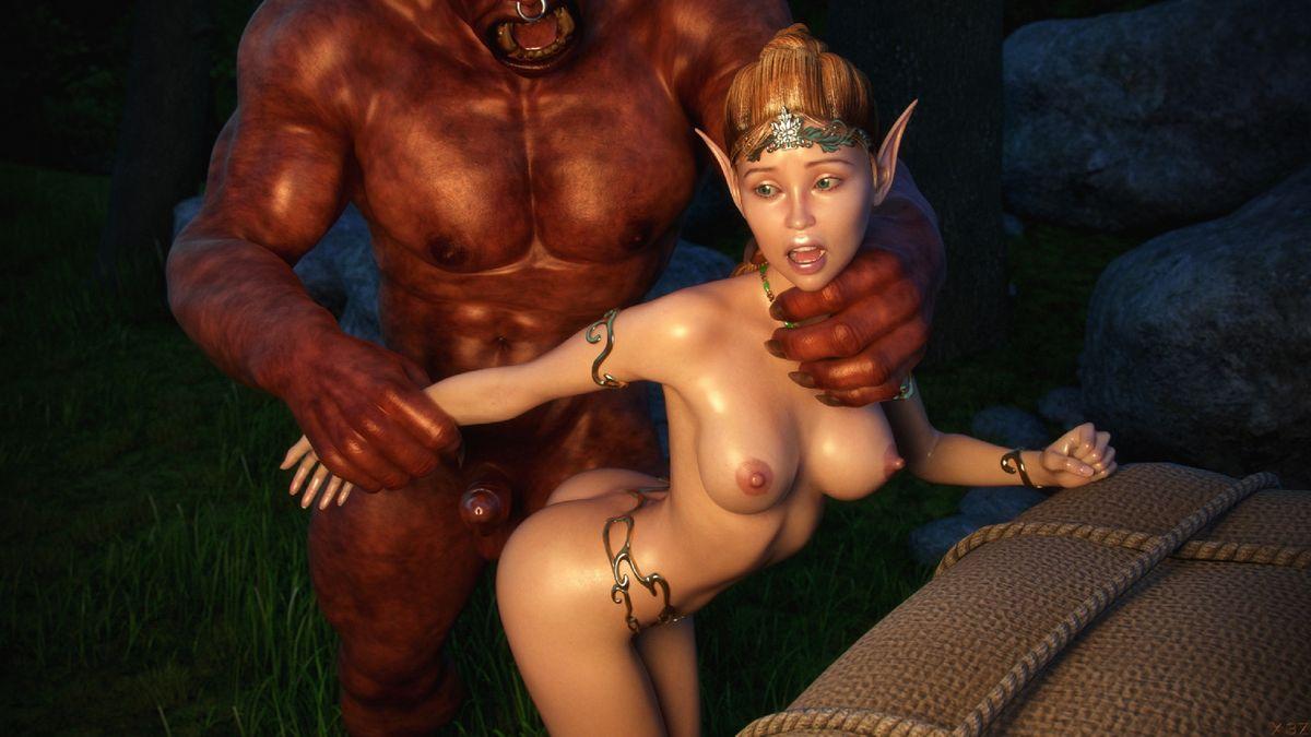 смотреть порно эльфами с мультики 3д