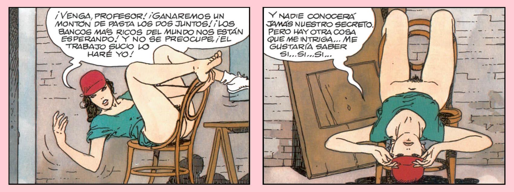 Desnuda por la Ciudad