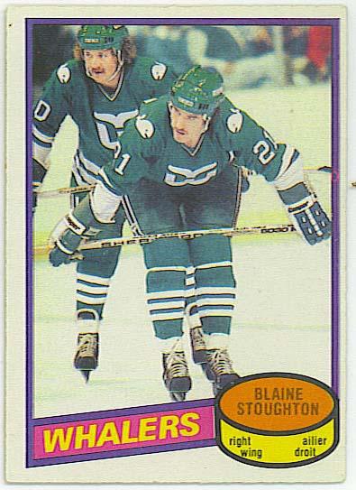 Blaine Stoughton - 1980-81 OPC