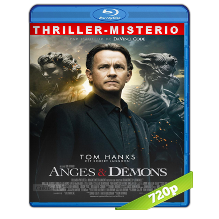 Angeles Y Demonios (2009) BRRip 720p Audio Trial Latino-Castellano-Ingles 5.1