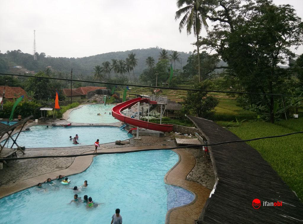kolam renang telaga warna