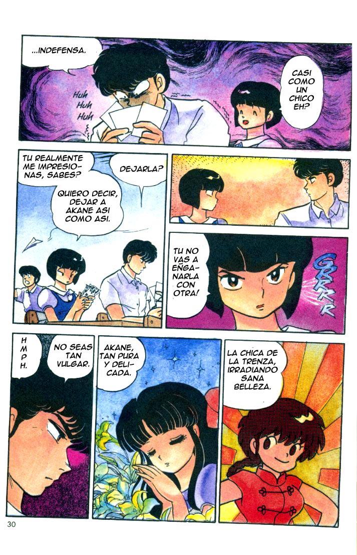 Ranma ½ [Tomo 1 capítulo 6: ''cuerpo y alma'']