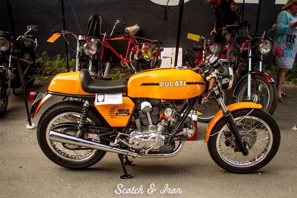 ducati 750 sport l-twin cafe racer