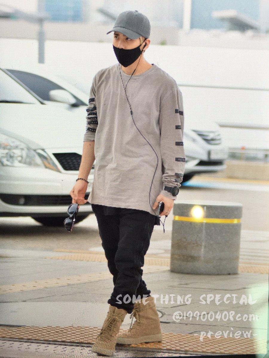 [IMG/160715] Jonghyun, Key @ Aeropuerto Incheon hacia Japón. YaUvsBPl