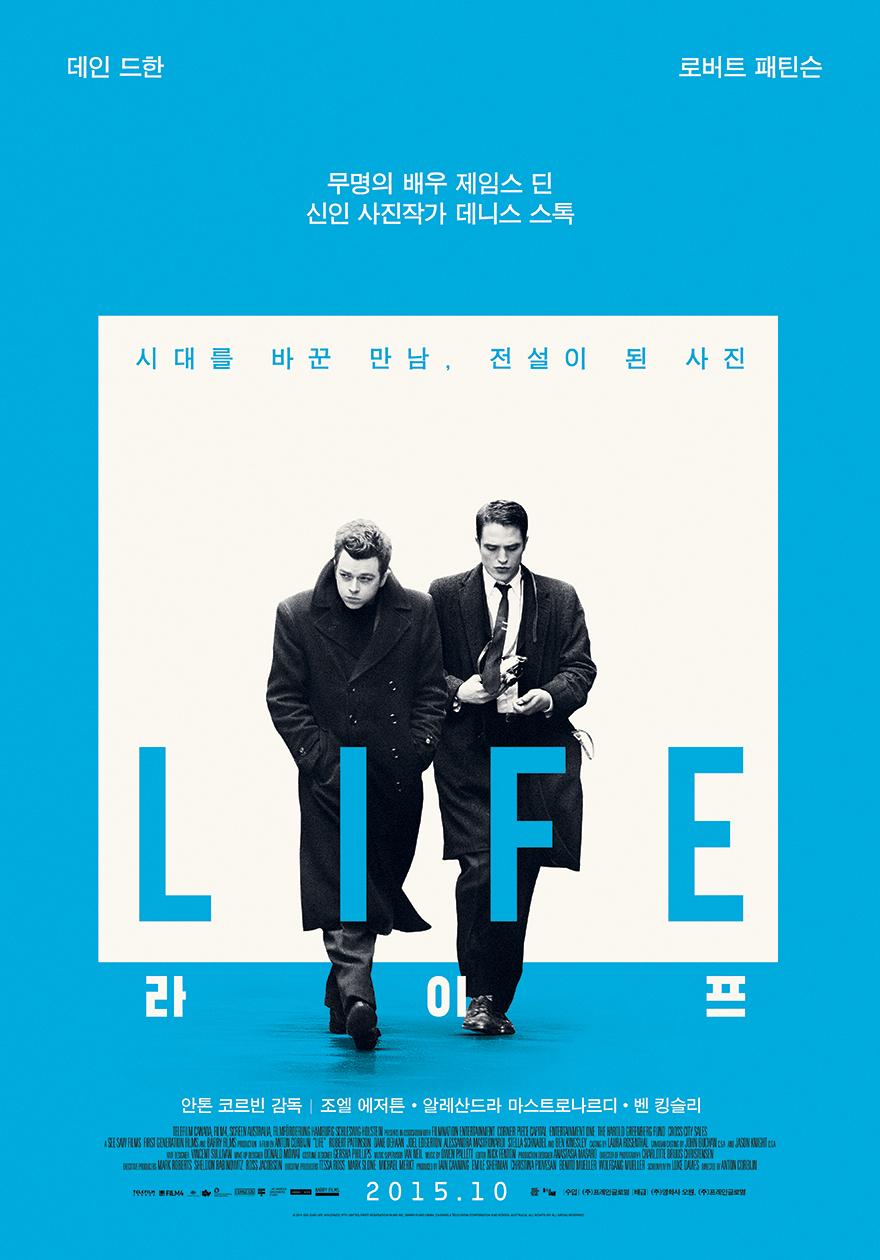 KOREA: HQ Poster for Robert Pattinson u0026quot;Lifeu0026quot; : 15 October ...