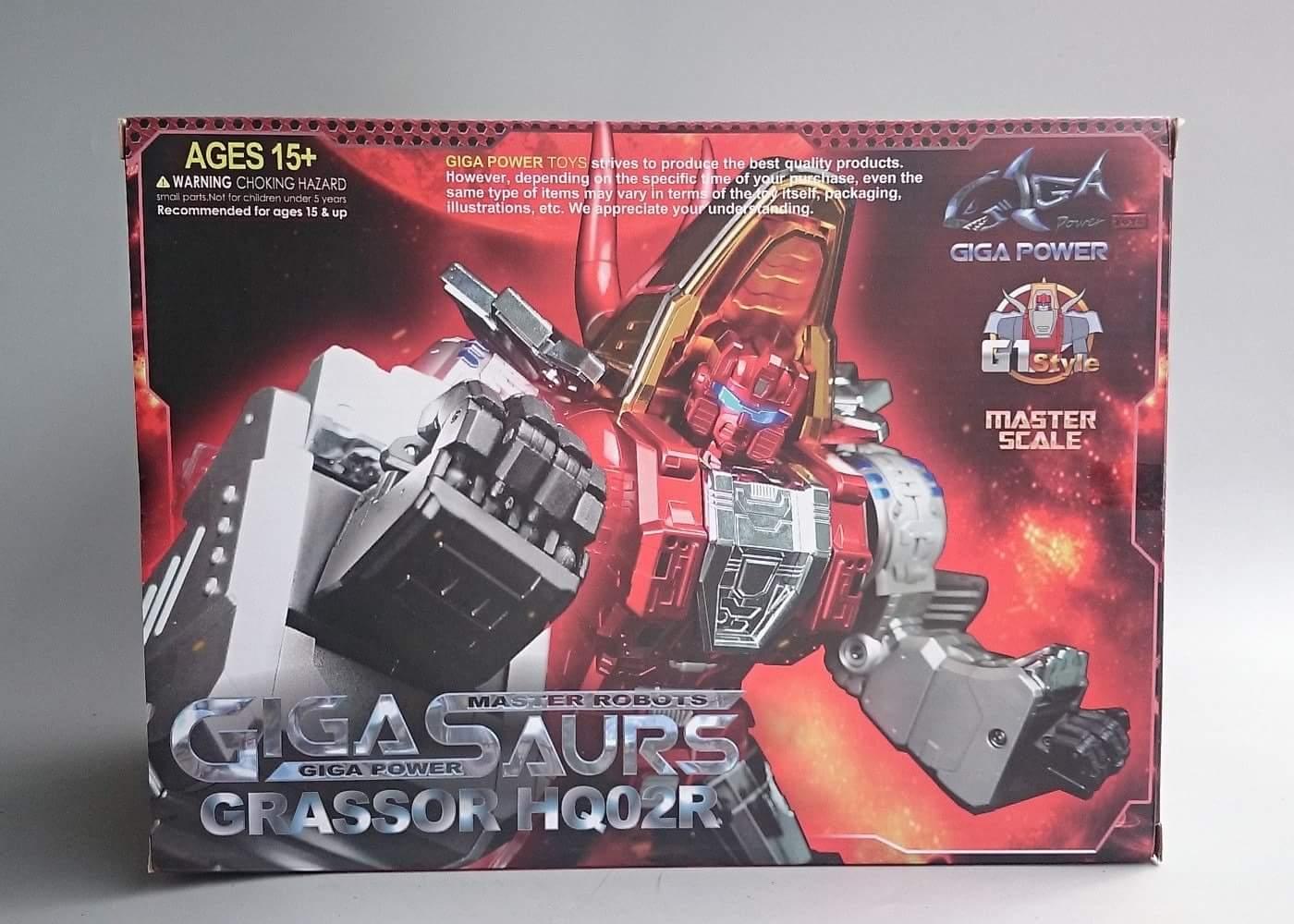 [GigaPower] Produit Tiers - Jouets HQ-01 Superator + HQ-02 Grassor + HQ-03 Guttur + HQ-04 Graviter + HQ-05 Gaudenter - aka Dinobots - Page 4 JdLga2Lu