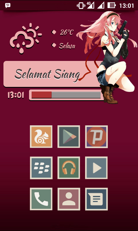 Download Widget Anime Luka Megurine Untuk Android