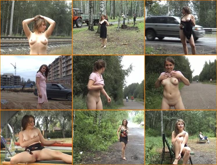 Upskirt russian public