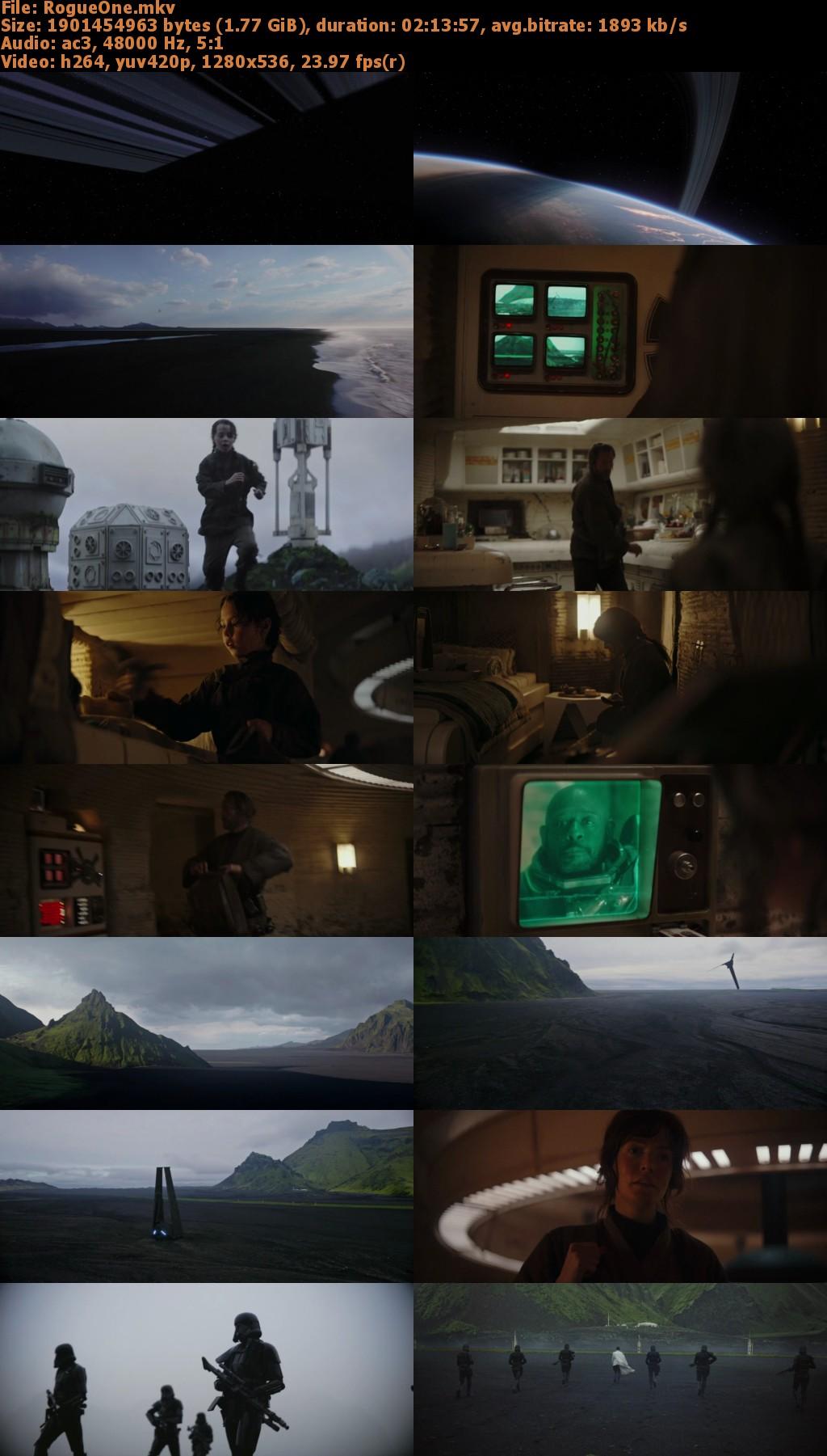 Capturas Rogue One