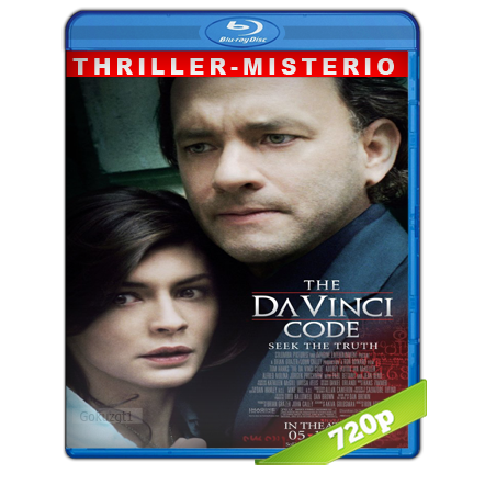 El Codigo Da Vinci (2006) BRRip 720p Audio Trial Latino-Castellano-Ingles 5.1