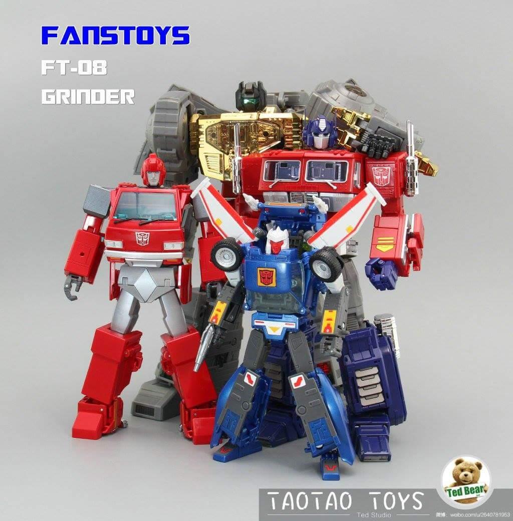 [Fanstoys] Produit Tiers - Dinobots - FT-04 Scoria, FT-05 Soar, FT-06 Sever, FT-07 Stomp, FT-08 Grinder - Page 10 HGxyZjPu