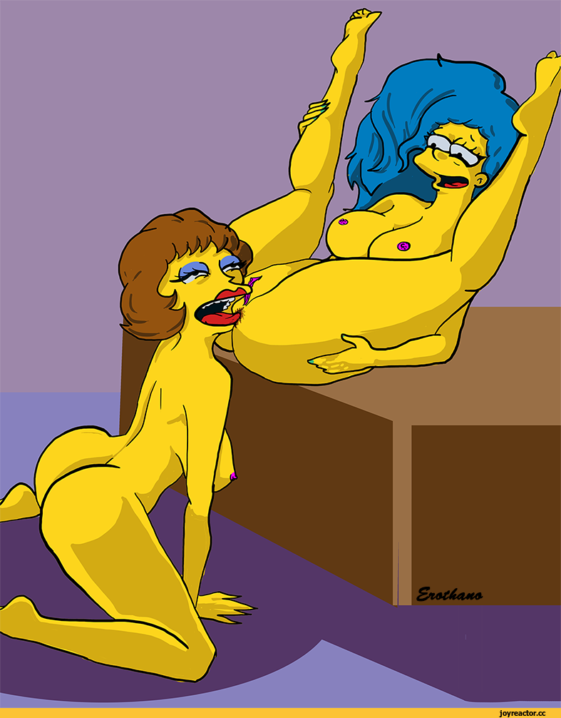 marge simpson lesbiana