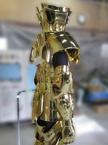 Processo de criação da Armadura de Gemeos para a exibição de Pachinko B9MeaS3e