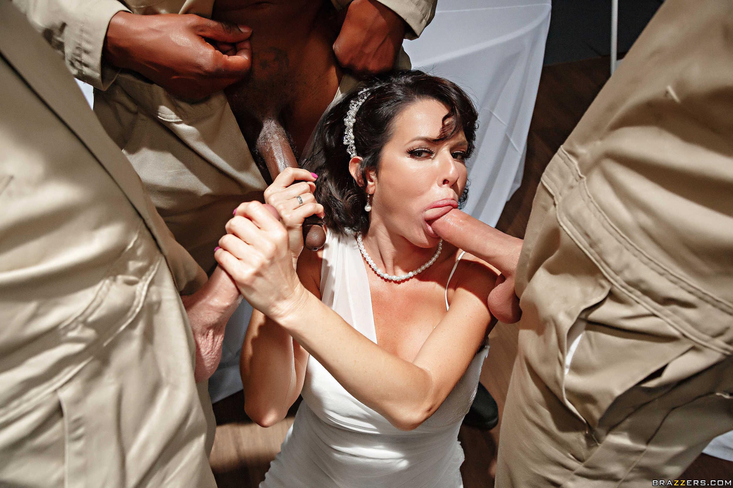 Free bride gangbang porn pics