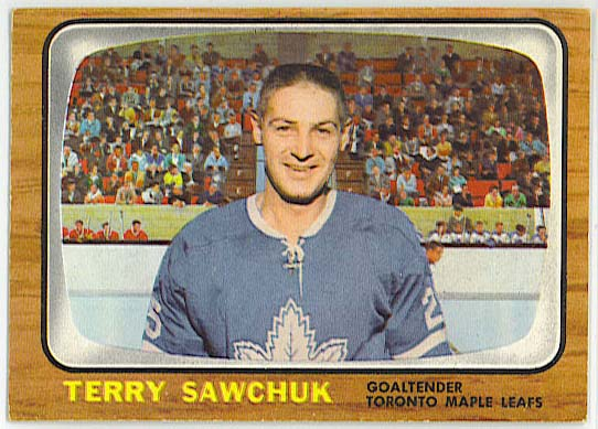 Terry Sawchuk - 1966-67 Topps Hockey