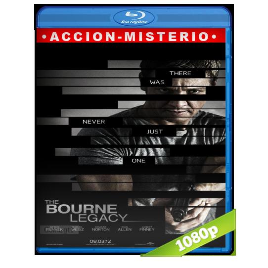 descargar El Legado Bourne [2012][BD-Rip][1080p][Lat-Cas][Accion] gratis