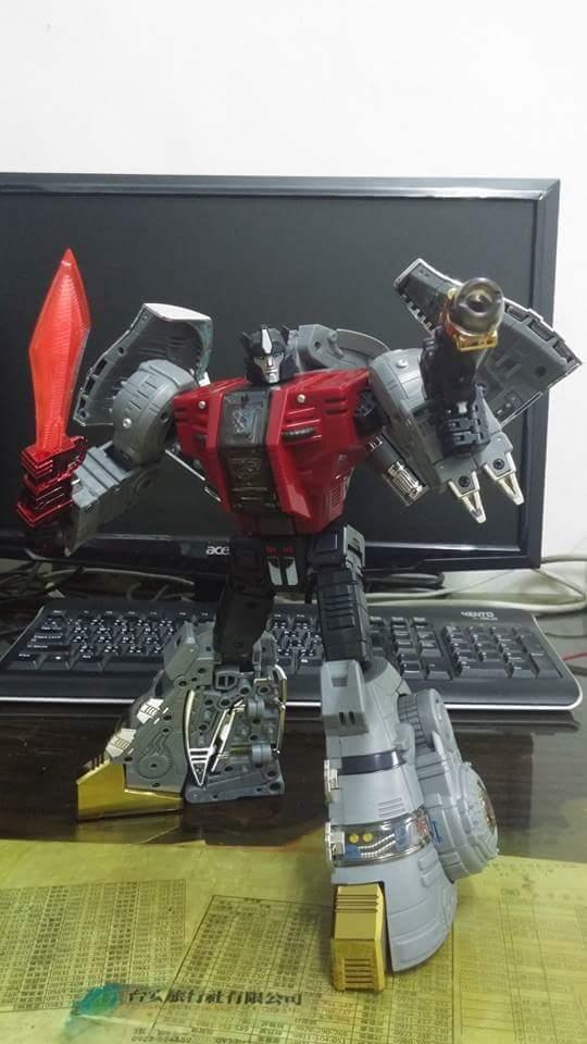 [Fanstoys] Produit Tiers - Dinobots - FT-04 Scoria, FT-05 Soar, FT-06 Sever, FT-07 Stomp, FT-08 Grinder - Page 9 XpYkYX7q