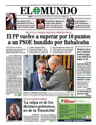 el mundo suplemento domingo: