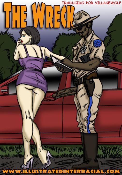 The Wreck- Illustrated Interracial  Ver Porno Comics-7134