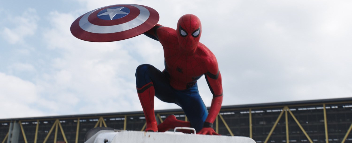 get your first look at spiderman in the jawdropping new