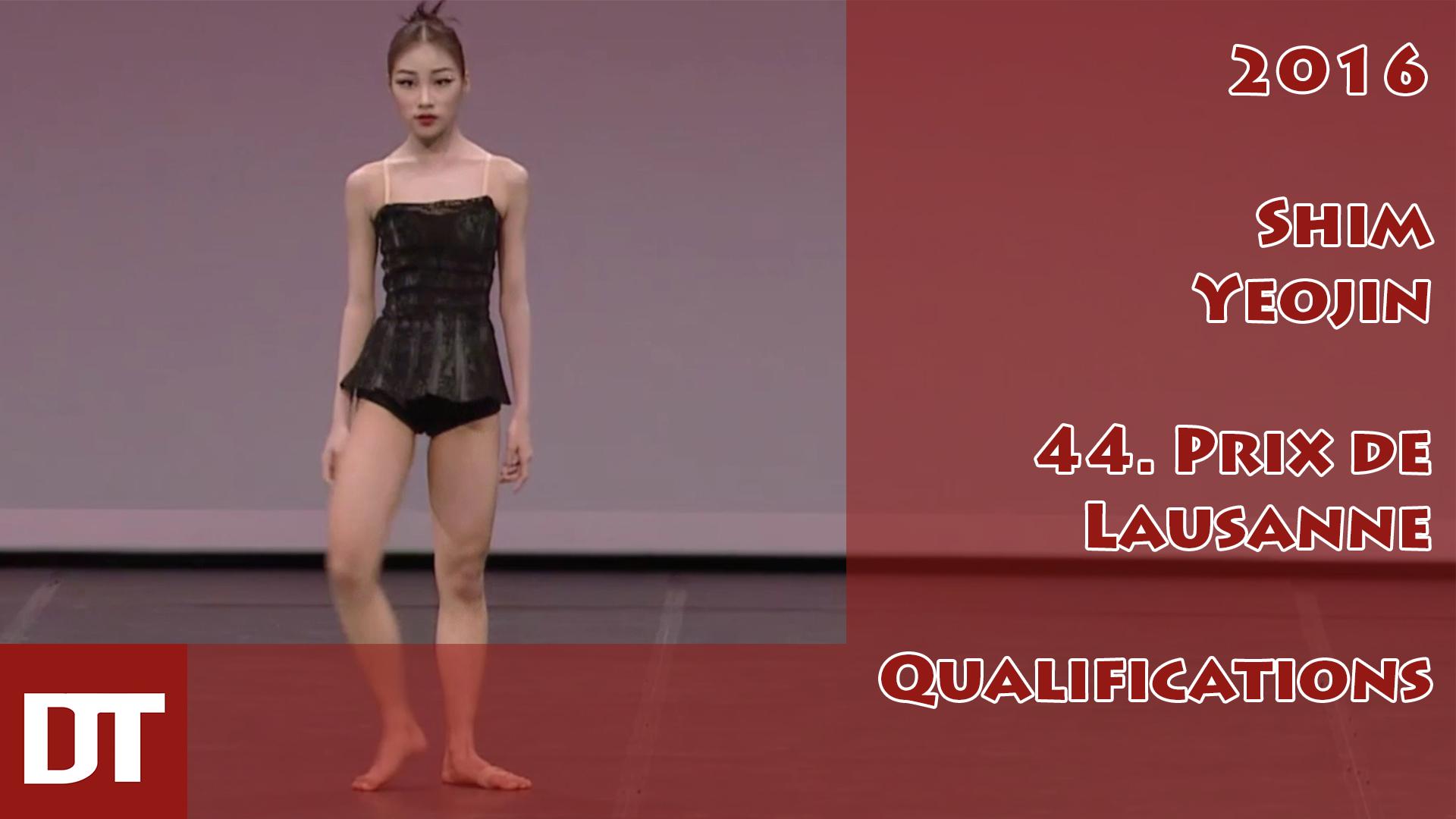 2016 – Shim Yeojin – 44. Prix de Lausanne – Qualifications