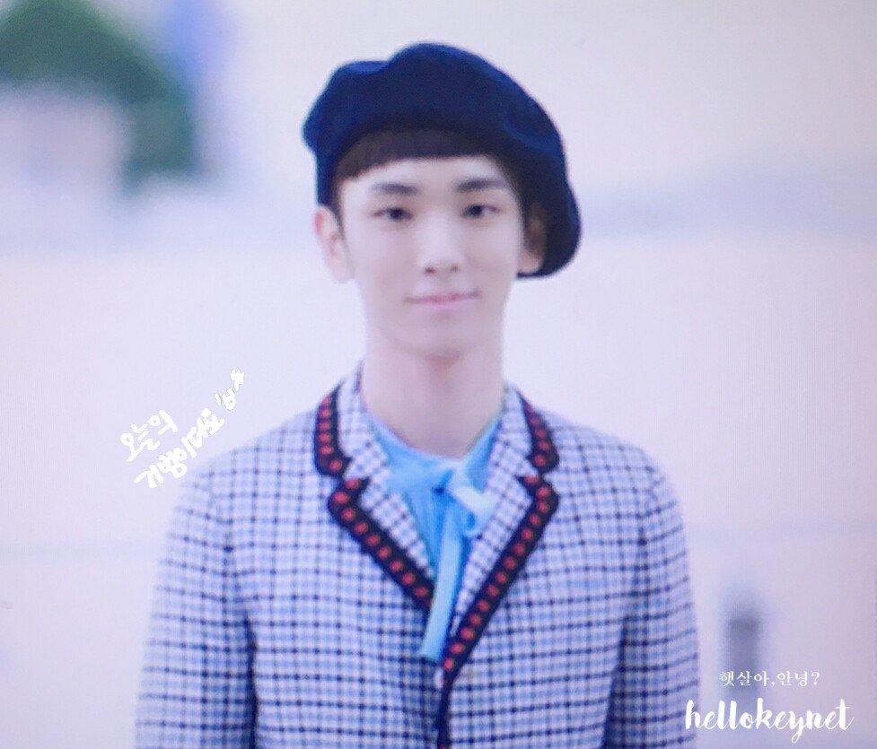 [IMG/160715] Jonghyun, Key @ Aeropuerto Incheon hacia Japón. 8iSLJvao
