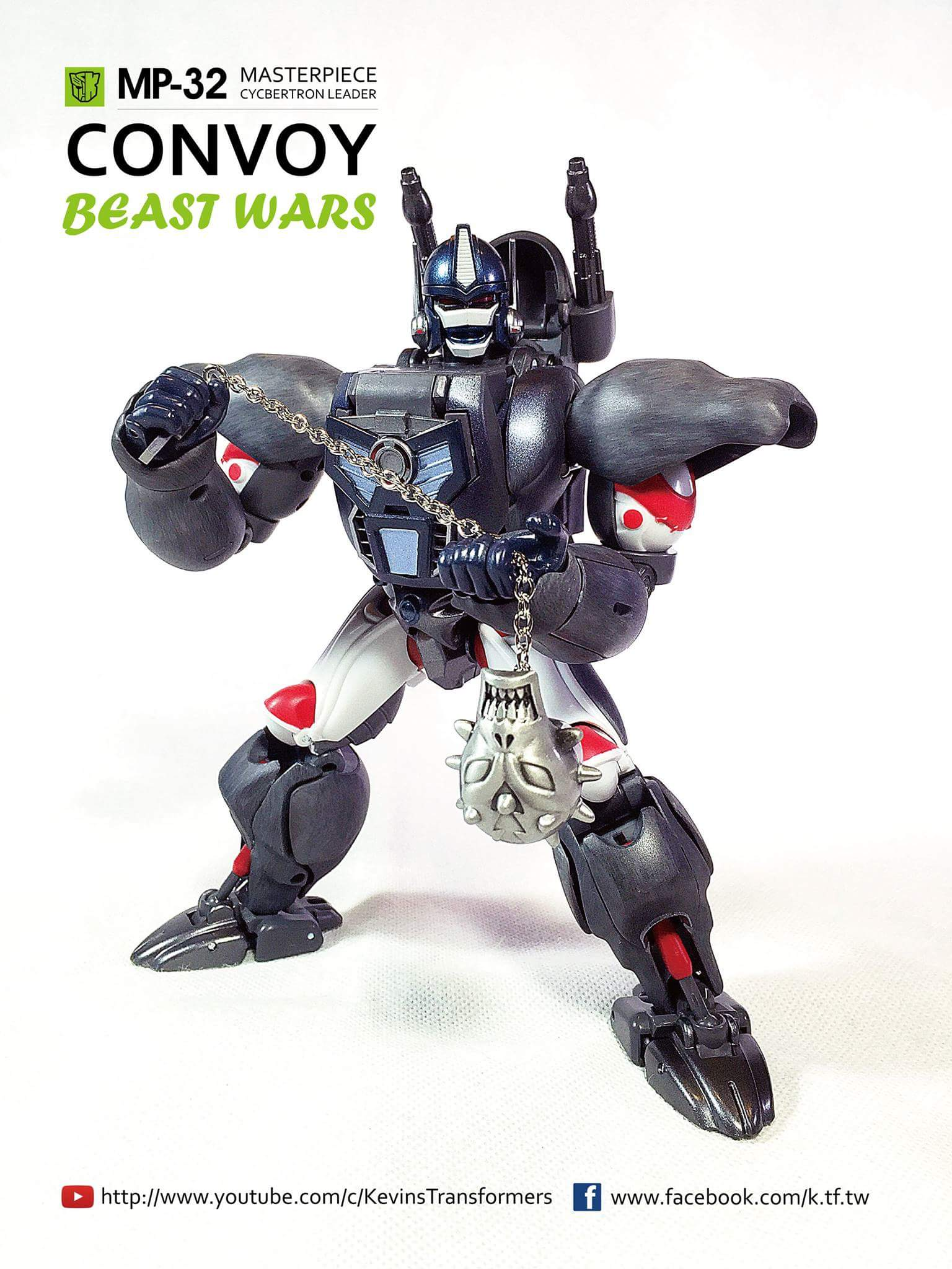 [Masterpiece] MP-32, MP-38 Optimus Primal et MP-38+ Burning Convoy (Beast Wars) - Page 3 FBvarFEM