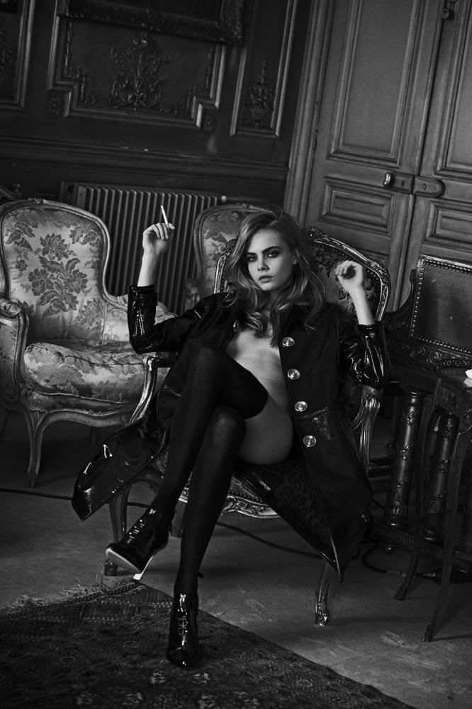 Cara Delevigne desnuda Interview