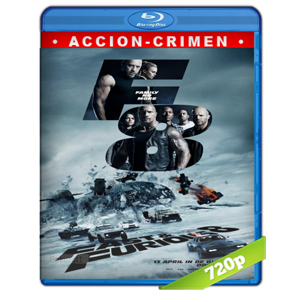 Rapido Y Furioso 8 (2017) BRRip 720p Audio Trial Latino-Castellano-Ingles 5.1